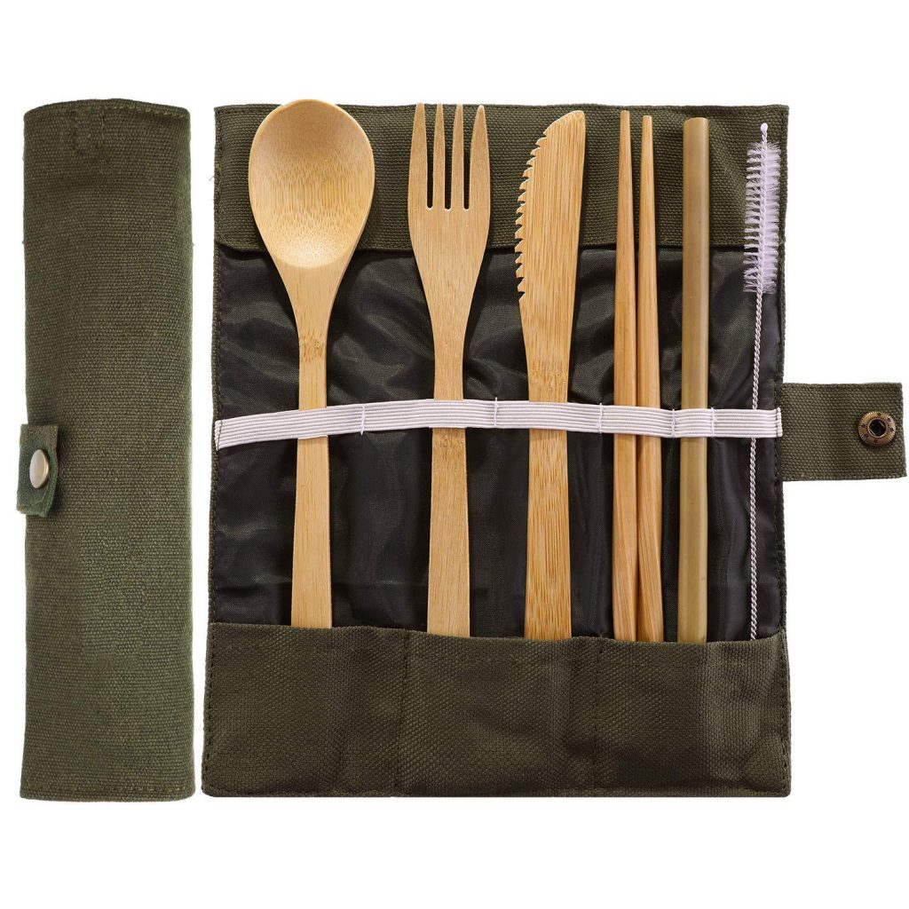 cucharas de bambu